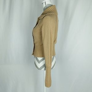 American Eagle Outfitters Sweaters - American Eagle Outfitters Tan Cardigan Medium